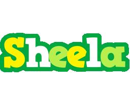 Sheela soccer logo