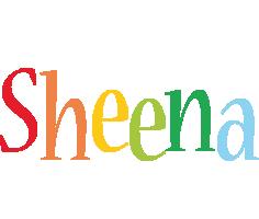 Sheena birthday logo