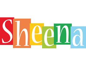 Sheena colors logo