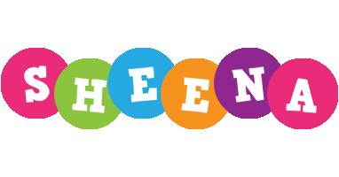Sheena friends logo