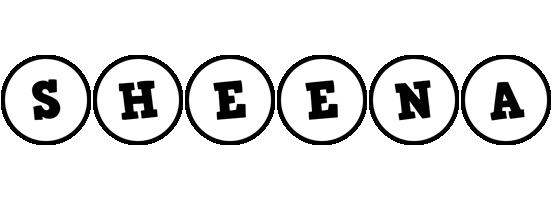 Sheena handy logo