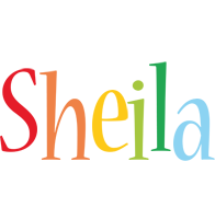 Sheila birthday logo