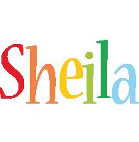 Sheila birthday logo