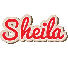 Sheila chocolate logo