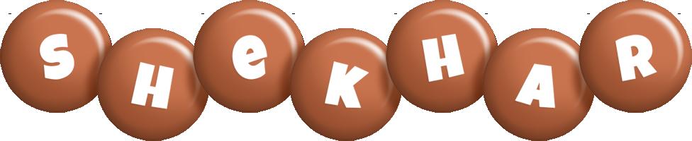 Shekhar candy-brown logo
