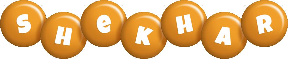 Shekhar candy-orange logo