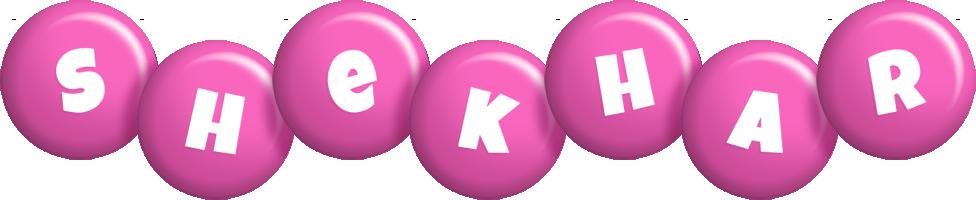 Shekhar candy-pink logo