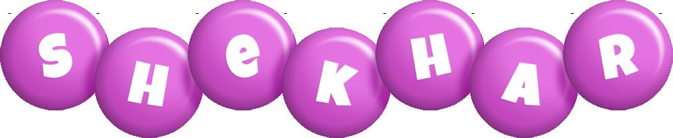 Shekhar candy-purple logo