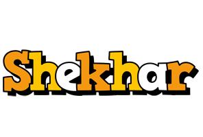 Shekhar cartoon logo