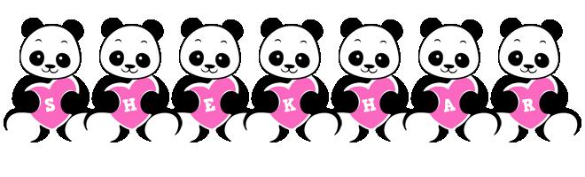 Shekhar love-panda logo