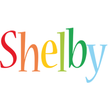 Shelby birthday logo