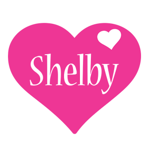 Shelby love-heart logo