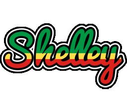 Shelley african logo