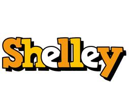 Shelley cartoon logo