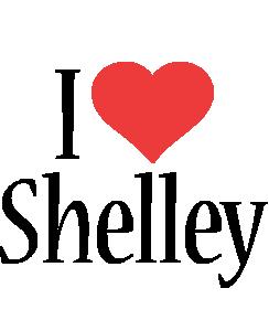 Shelley i-love logo