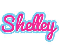 Shelley popstar logo