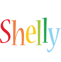Shelly birthday logo