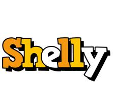 Shelly cartoon logo