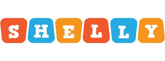 Shelly comics logo