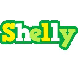 Shelly soccer logo