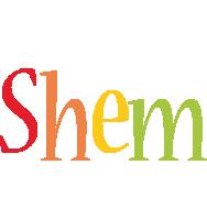 Shem birthday logo