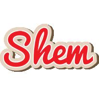 Shem chocolate logo