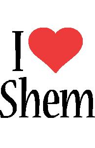 Shem i-love logo