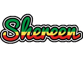 Shereen african logo