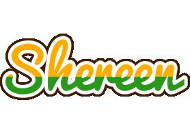 Shereen banana logo