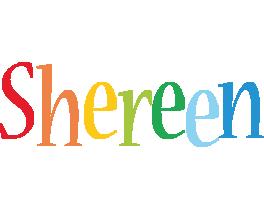 Shereen birthday logo
