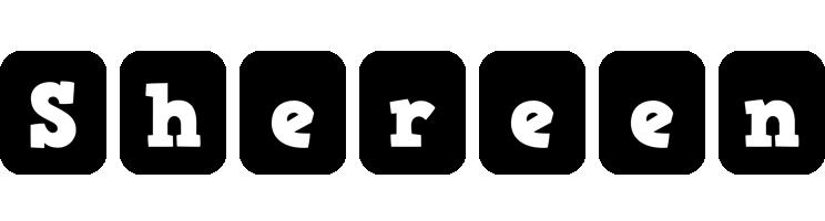 Shereen box logo