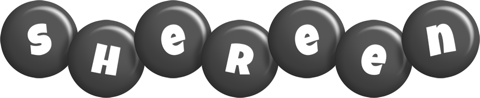 Shereen candy-black logo