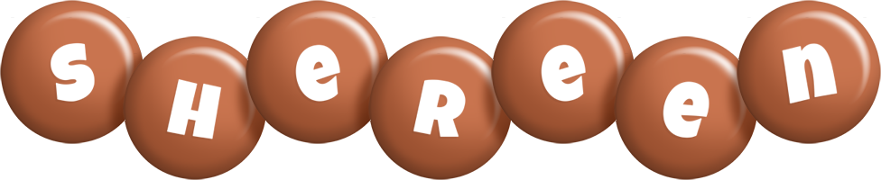 Shereen candy-brown logo
