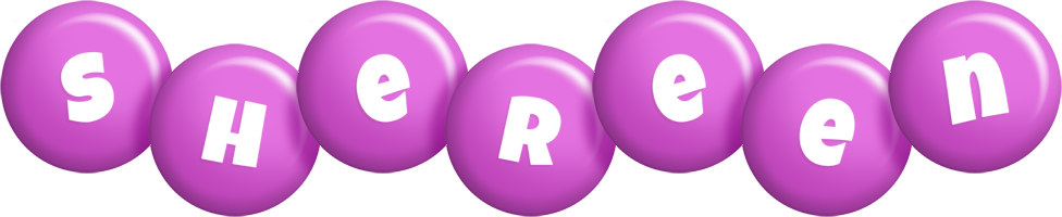 Shereen candy-purple logo