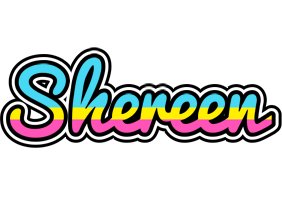 Shereen circus logo
