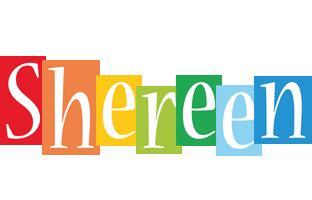 Shereen colors logo