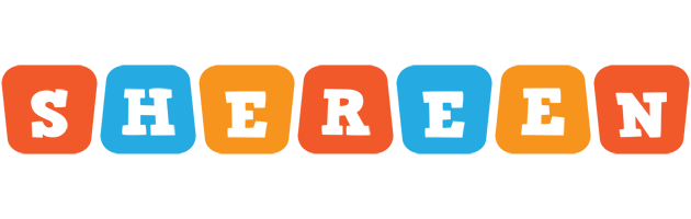 Shereen comics logo