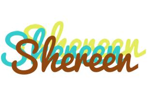 Shereen cupcake logo