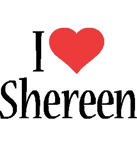 Shereen i-love logo