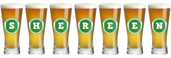 Shereen lager logo