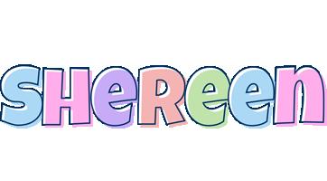 Shereen pastel logo