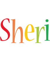 Sheri birthday logo