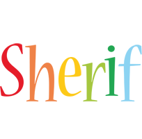 Sherif birthday logo