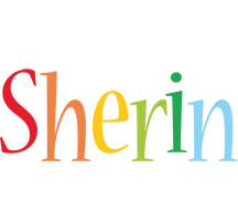 Sherin birthday logo