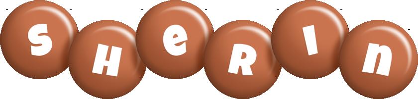 Sherin candy-brown logo