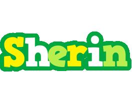 Sherin soccer logo