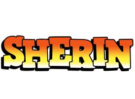 Sherin sunset logo