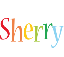 Sherry birthday logo