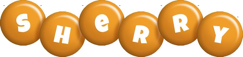 Sherry candy-orange logo