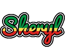 Sheryl african logo